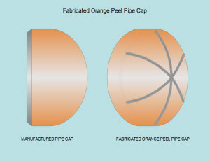 Orange Peel Piping Cap FabEasy Pipe Template Development - Pipe templates
